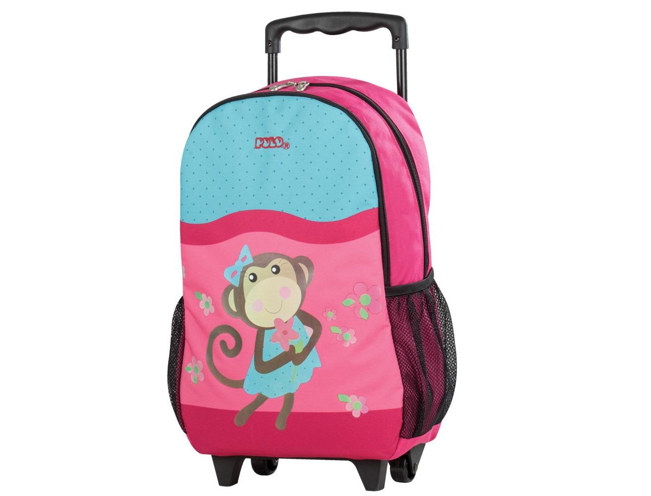 09685b14775 Τσάντα Τρόλεϋ Νηπιαγωγείου Polo Monkey - Lexicon Shop