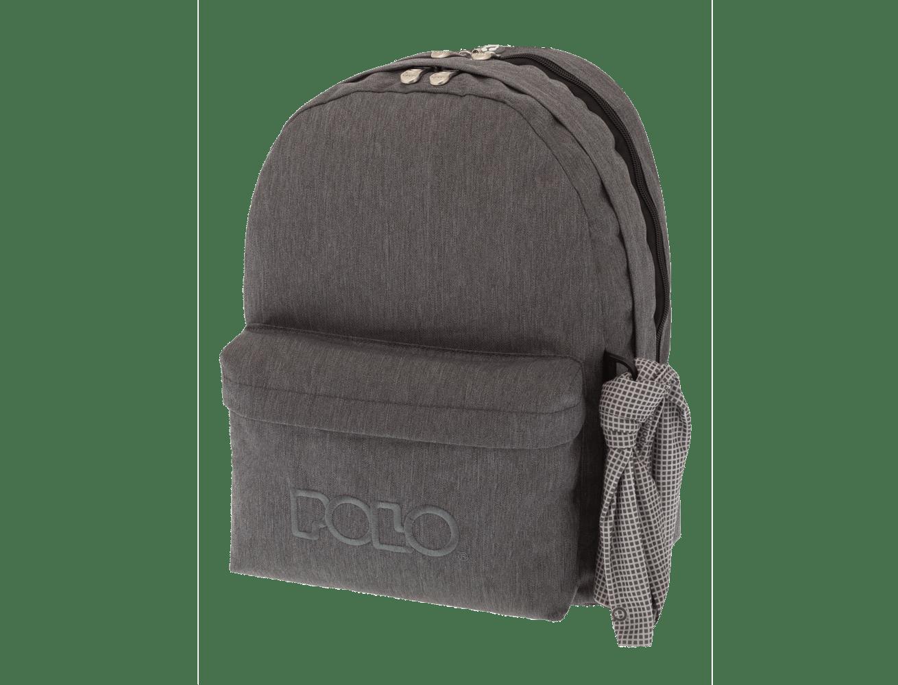 e4aeacd7fd Σχολική τσάντα Polo Jean Style 9-01-235-90 - Lexicon Shop