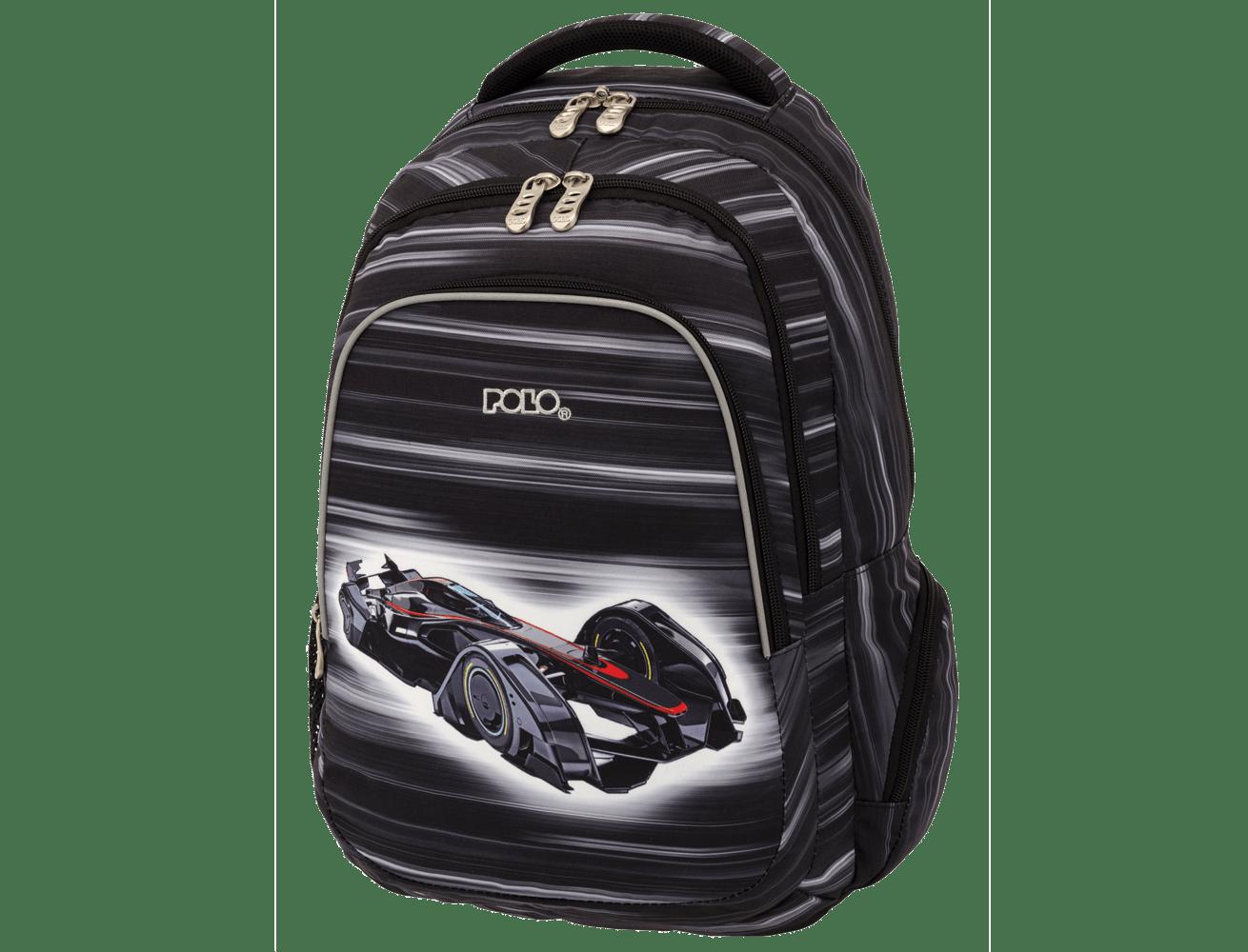 bdeece56b3 Σχολική Τσάντα Polo Racers 9-01-240-02 - Lexicon Shop