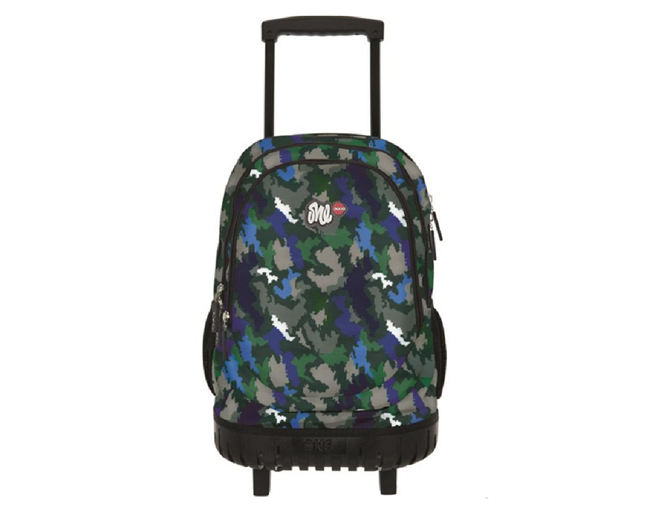 fb9e3d2dbfc Σχολική τσάντα Τρόλεϊ LYCsac Camo Pixels - LO82947 - Lexicon Shop
