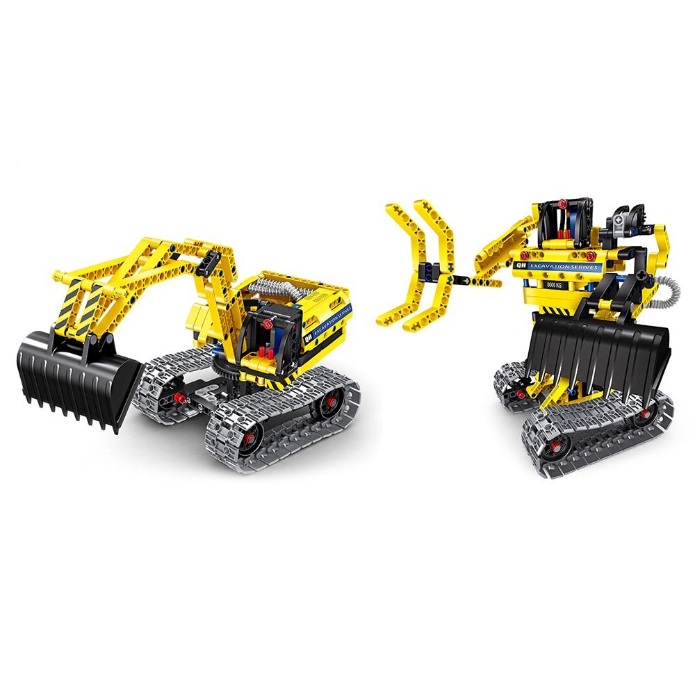 Robot και Εκσκαφέας - Μηχανική Κατασκευή - Μαθηματική Βιβλιοθήκη - Q6801