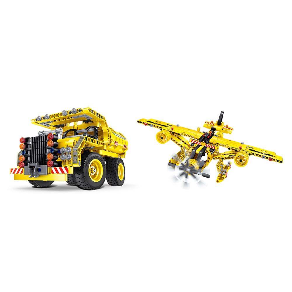 Plane και Φορτηγό-Καρότσα - Μηχανική Κατασκευή - Μαθηματική Βιβλιοθήκη - Q6802