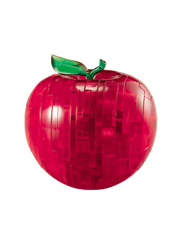 Apple Red (Μήλο Κόκκινο) - Κρυστάλλινο 3D Παζλ - 90005