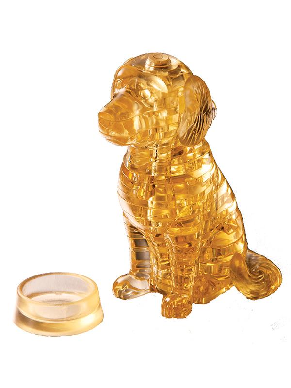 Golden Retriever - Κρυστάλλινο 3D Παζλ - 90118