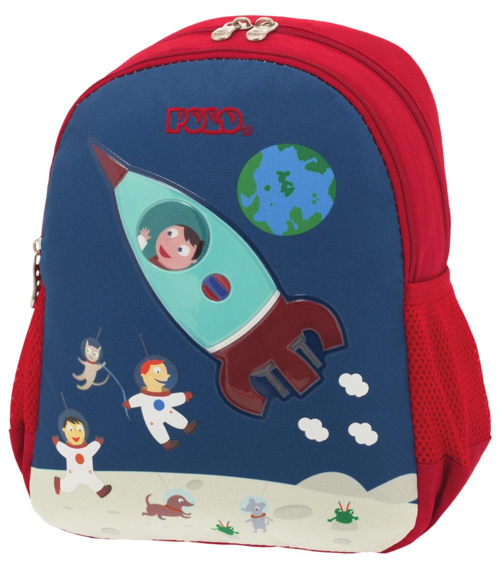 Spaceship Animal Junior σακίδιο πλάτης Polo - 9-01-014-60