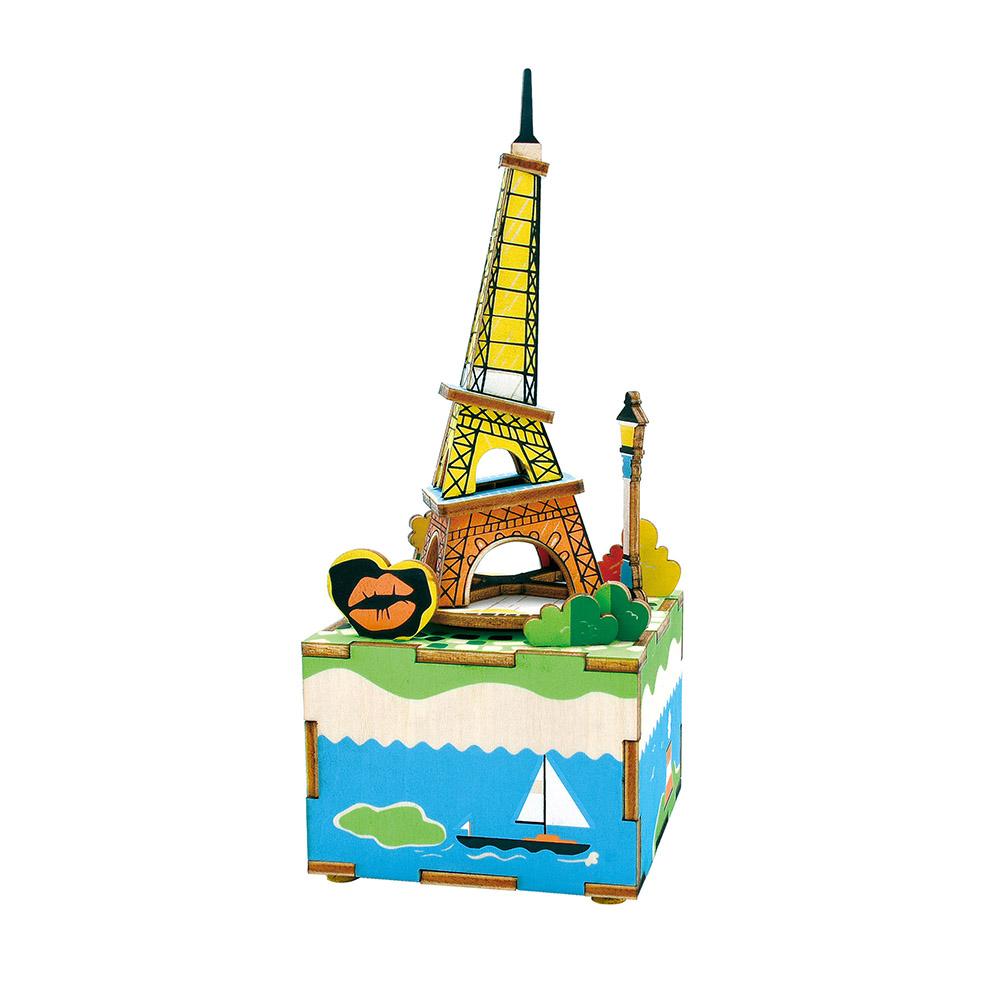 DIY Μουσικό Κουτί - Romantic Eiffel - AM308
