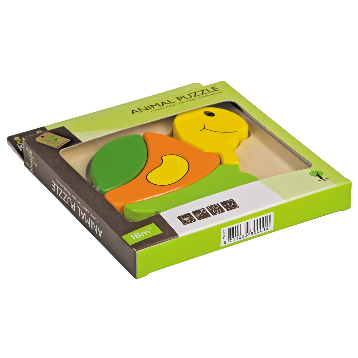 Turtle - Παιδικό Ενσφήνωμα Χελώνα - 80001-tr