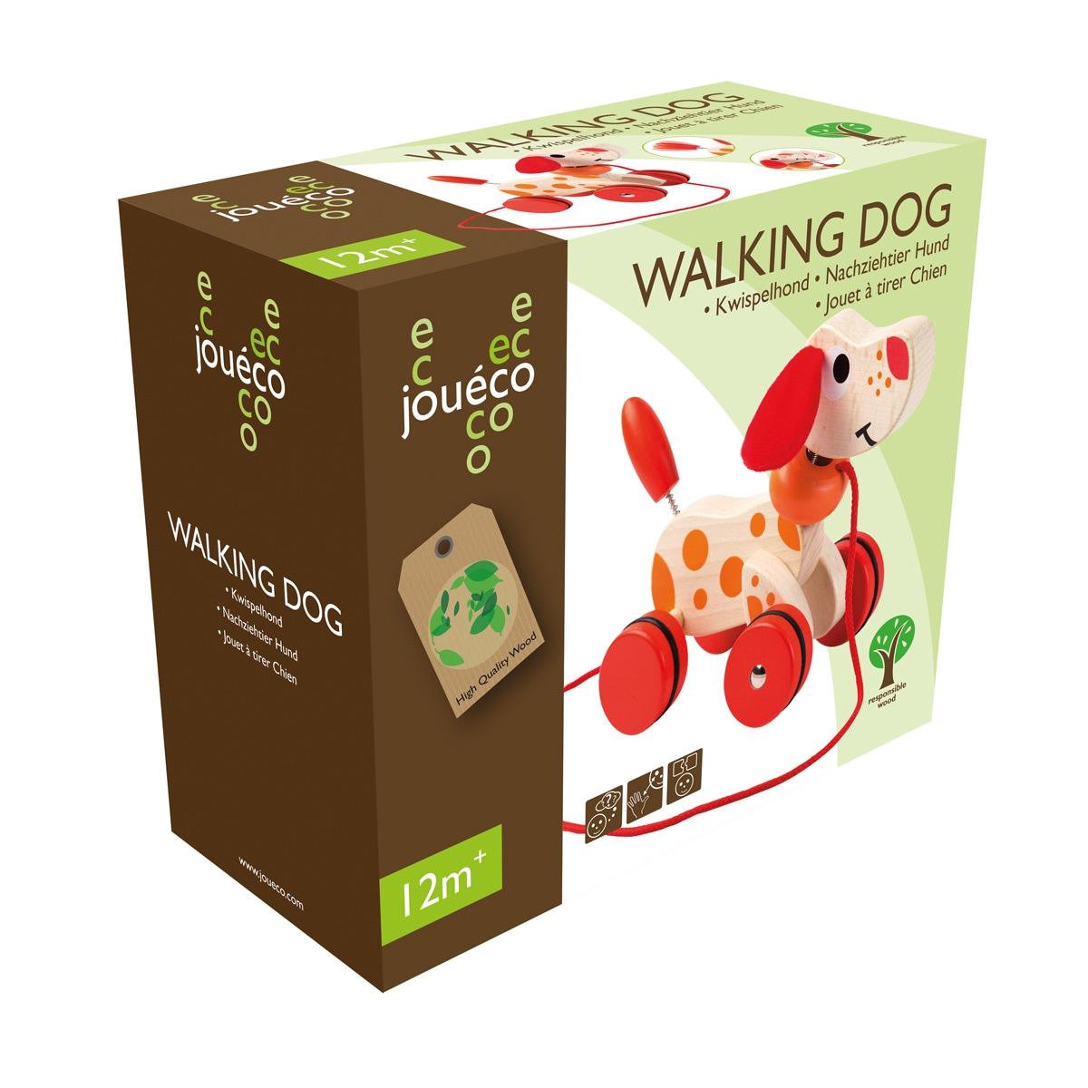Dog - Κυλιόμενο Σκυλάκι με ρόδες - 80046