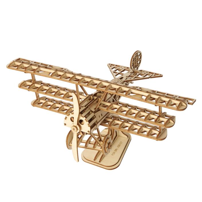 3D Ξύλινη Κατασκευή - Bi-Plane - TG301