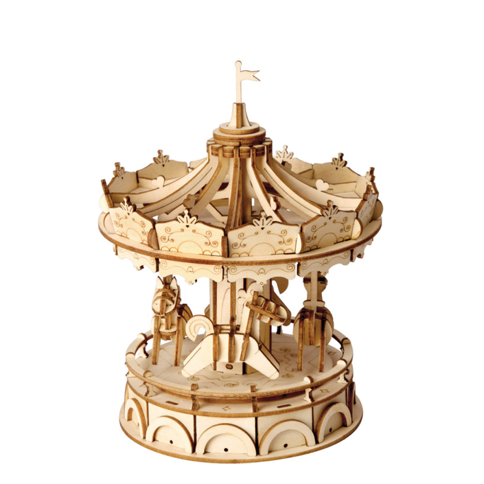 3D Ξύλινη Κατασκευή - Merry Go Round - TG404